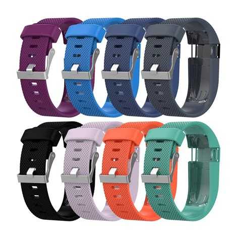 Fitbit Charge HR Replacement Band Strap with Buckle (Large