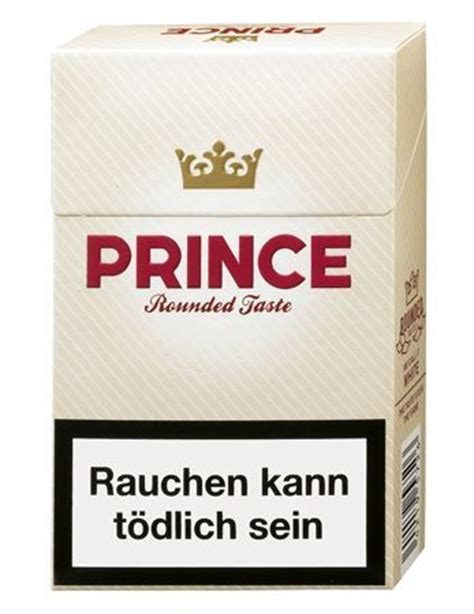 Prince Rounded Taste (Zigaretten) - Tabak and more