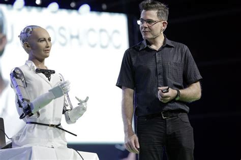 Robot who wants to 'DESTROY humans' has been given Saudi
