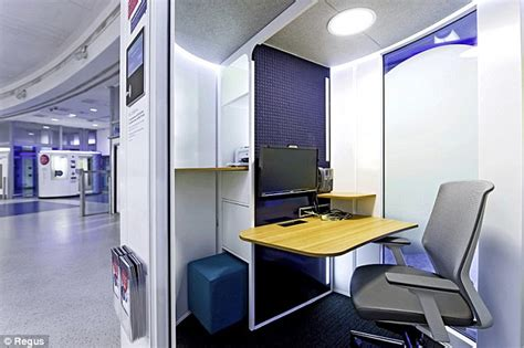 Gatwick Airport opens workpods designed by Regus   Daily