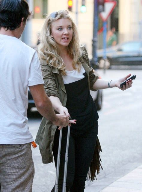 Michael Fassbender and Natalie Dormer in Spain for The