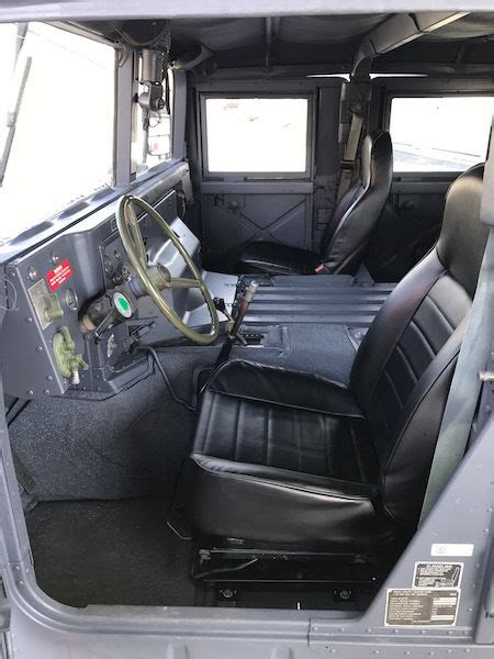 1993 AM General Humvee M998 Hummer H1 Military X Doors New