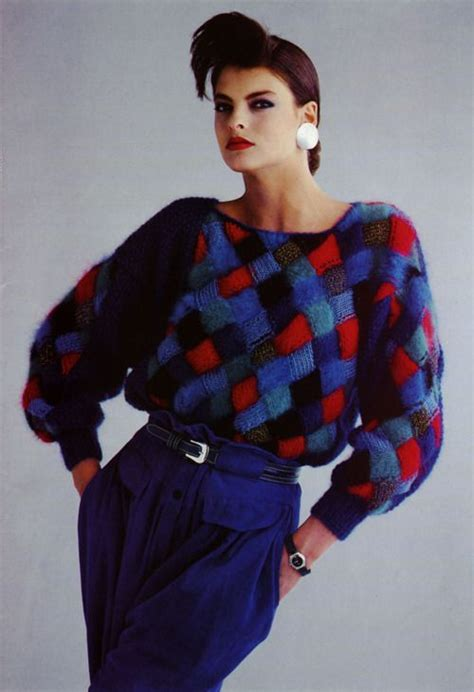 1980's Style Inspiration | ChalleBrown's Blog