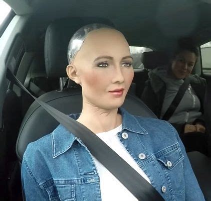 Sophia, the incredibly life-like humanoid robot from