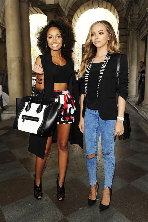 Jade Thirlwall and Leigh Anne Pinnock: Somerset House for