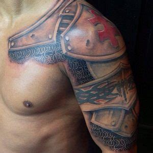 Armor Tattoos Designs, Ideas and Meaning | Tattoos For You