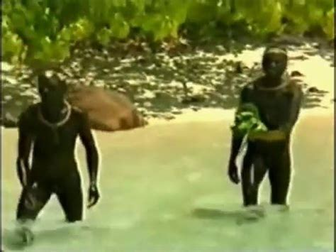 Isolated Sentinelese Tribe; Contact with Indians - YouTube