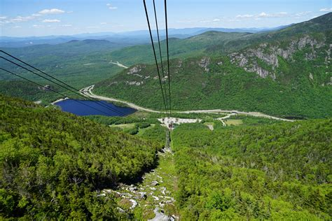 """""""Cannon Aerial Tramway"""", """"Franconia Notch State Park"""", New"""