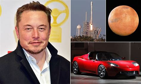 Elon Musk to send a Tesla Roadster to Mars | Daily Mail Online
