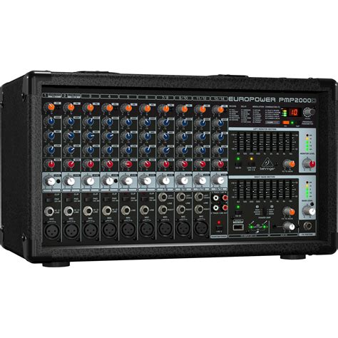Behringer PMP2000D - 2000W 14-Channel Powered Mixer