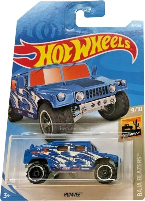 Humvee Hot Wheels 2019 Treasure Hunt - HWtreasure