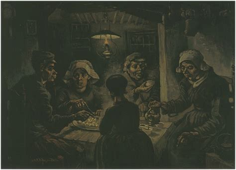 Potato Eaters, The by Vincent Van Gogh - 453 - Painting